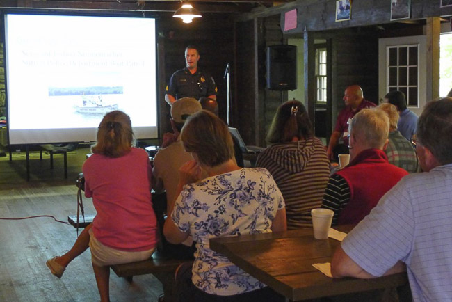 Annual Meeting promotes safe boating